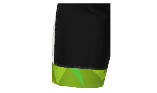 Linea For - Fondo Gamba con Elastico Vita Siliconato con Elementi Catarinfrangenti | Hicari - Abbigliamento Ciclismo Personalizzato