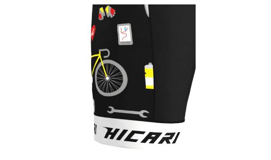 Linea Prime- Fondo Gamba con Elastico Vita Siliconato | Hicari - Abbigliamento Ciclismo Personalizzato