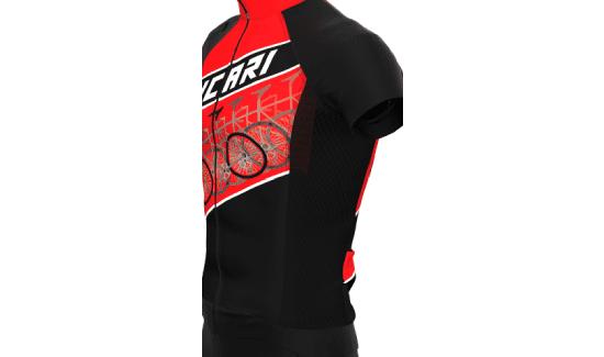 Linea Specialist - Fianchetti Rete Traspirante | Hicari - Abbigliamento Ciclismo Personalizzato